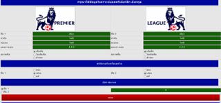 เปิดบริการโปรแกรมวิเคราะห์บอลพรีเมียร์ลีก อังกฤษ ฟรีไม่มีเงื่อนไข casinobet168.com